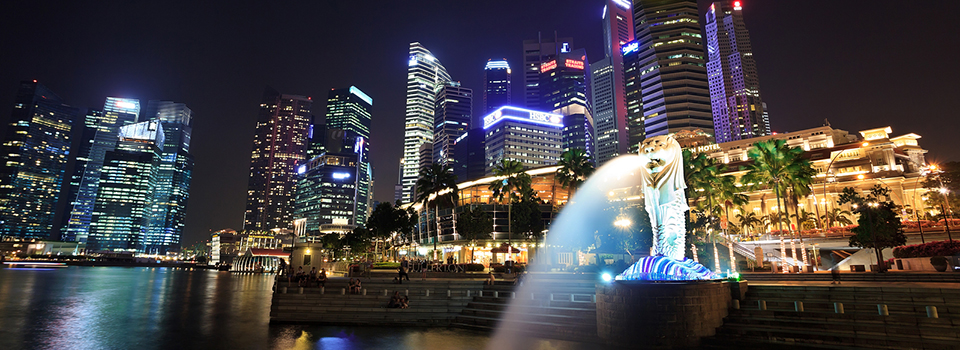 bigstock-night-view-at-Merlion-park-47931425